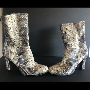 Sam Edelman snake print boot size 9.5